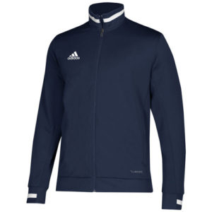 Adidas Men's T19 Track Jacket – Navy/White