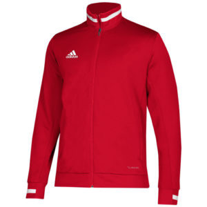 Adidas Men's T19 Track Jacket – Red/White
