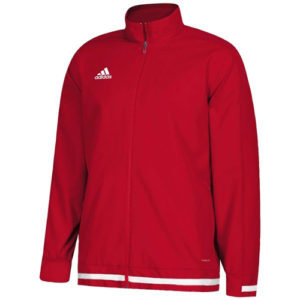 Adidas Men's T19 Woven Jacket – Red/White