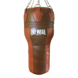 Tuf-Wear Leather Angle Punchbag – Classic Brown