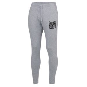 Sugar Rays Coolfit Tapered Jog Pants with Ankle Zips – Grey