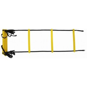 BXR Fitness Training Agility Ladder – Yellow/Black – (2m,4m,8m)