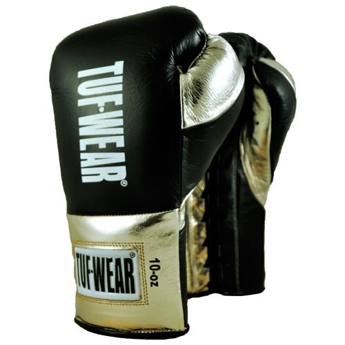 Tuf-Wear Sabre Contest Gloves – White/Gold