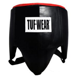 Tuf Wear Leather Pro Style Groin Guard – Black