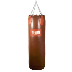Tuf-Wear 5.5ft Leather Punchbag – Classic Brown
