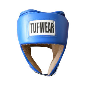 Tuf-Wear Junior Open Face Headguard – Blue