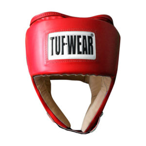 Tuf-Wear Junior Open Face Headguard – Red