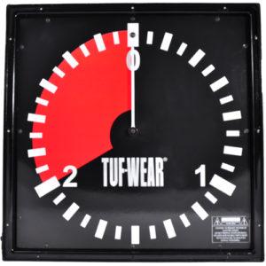 Tuf-Wear 2 Minute Amateur Gym Wall Clock