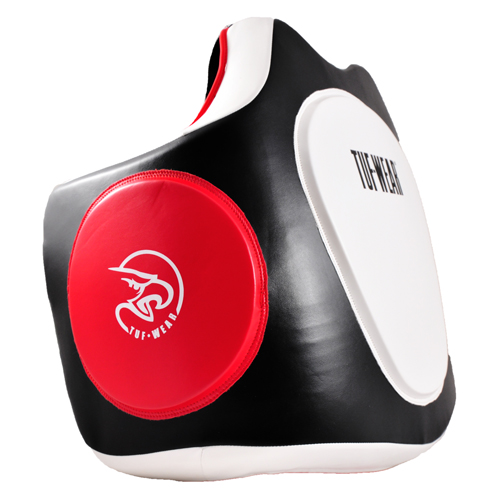 Tuf-Wear Armour Body Shield Protector – Black/White/Red