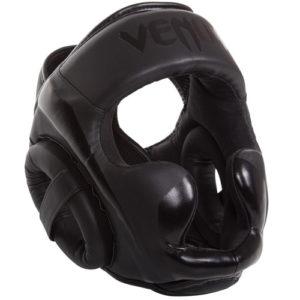 Venum Elite Cheek Headguard – Black/Black