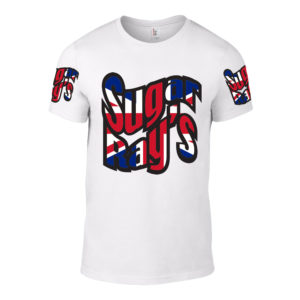Sugar Ray's T-Shirt – White/Union Jack