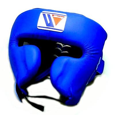 Winning FG-2900 Headguard With Cheek Protection – Blue