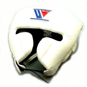 Winning FG-2900 Headguard With Cheek Protection – White