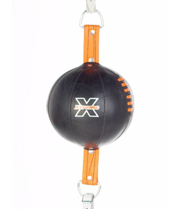 Pro-Box Xtreme Peanut Floor To Ceiling Ball – Black/Orange