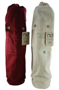 Yoga-Mad Organic Cotton Mat Bag