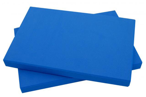 Yoga-Mad Half Yoga Block 1″ – EVA Foam