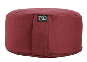 Yoga-Mad Round Meditation Cushion – Std