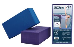 Yoga-Mad Hi-Density Yoga Brick