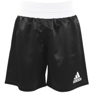 adidas Satin Boxing Shorts – Black