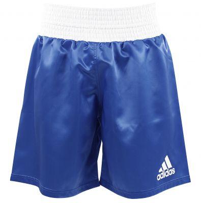 adidas Satin Boxing Shorts – Blue