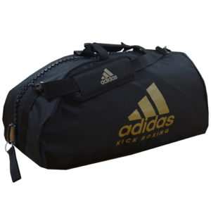 Adidas Boxing Bag and Equipment Holdall – Black/Gold