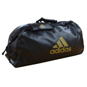 Adidas PU Combat Sports Trolley Bag – Black/Gold