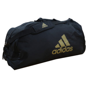 Adidas Combat Sports Trolley Bag – Black/Gold