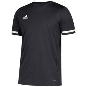 Adidas Men's T19 Short Sleeve Jersey / T-Shirt – Black