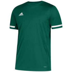 Adidas Men's T19 Short Sleeve Jersey / T-Shirt – Green