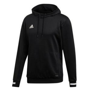 Adidas Men's T19 Hoody / Hooded Sweatshirt – Black