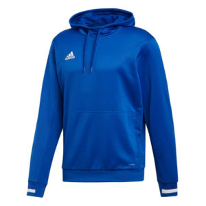 Adidas Men's T19 Hoody / Hooded Sweatshirt – Royal Blue