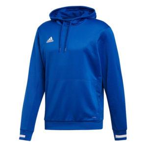 Adidas Men's T19 Hoody / Hooded Sweatshirt – Royal Blue