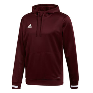 Adidas Men's T19 Hoody / Hooded Sweatshirt – Maroon