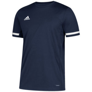 Adidas Men's T19 Short Sleeve Jersey / T-Shirt – Navy