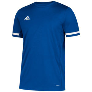 Adidas Men's T19 Short Sleeve Jersey / T-Shirt – Royal Blue