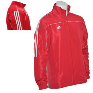 adidas Adult Tracksuit Jacket – Red