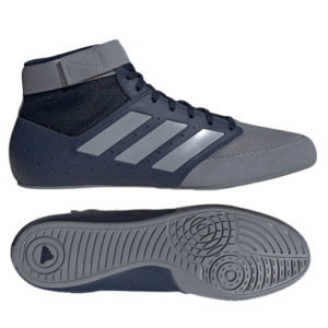 Adidas Mat Hog 2.0 Boxing/Wrestling Boot – Grey/Navy