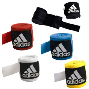 adidas Boxing 4.5m Hand Wraps [Black, Blue, Red, White, or Yellow]