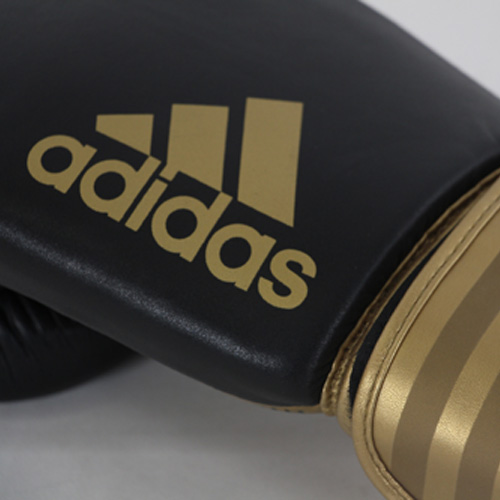 Adidas Hybrid 200 Boxing Gloves – Black/Gold