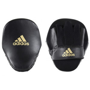 Adidas Speed Mesh Focus Mitts – Black/Gold