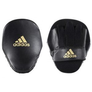 Adidas Speed Mesh Focus Mitts – Black/Gold