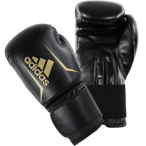 Adidas Speed 50 Boxing Gloves – Black/Gold