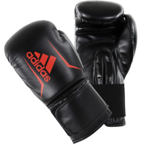 Adidas Speed 50 Boxing Gloves – Black/Red [Junior & Senior]