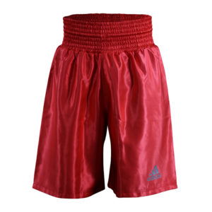 Adidas 18 Satin Boxing Shorts – Red/Silver