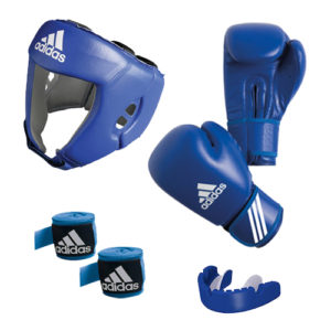 adidas AIBA Boxing Set 2 – Blue