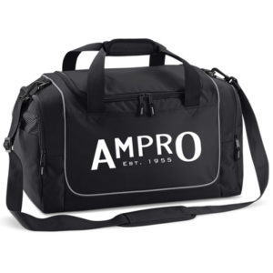 Ampro Teamwear Locker Kit Bag – Black/Light Grey