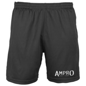 Ampro Train Cool Shorts – Black