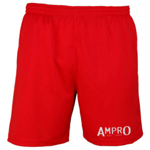 Ampro Train Cool Shorts – Red