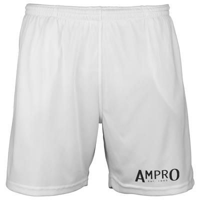 Ampro Train Cool Shorts – White