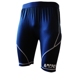 Ampro Junior Performance Base Layer Shorts – Red